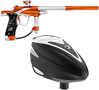 Planet Eclipse Ego11 Paintball Marker - Pure Hunter + Dye Rotor Loader - White