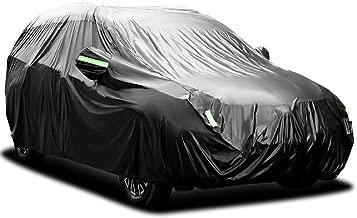 doble capa sint/ética y de finas trazas de algod/ón por el interior transpirable para evitar la condensaci/ón en el parabrisas. Funda exterior premium para Peugeot 1007 impermeable