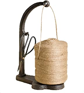 Vintage Style Cast Iron Twine and Shears Set