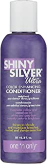 One'N Only Shiny Silver Ultra Conditioner 3 Ounce - Pack Quantity: 1