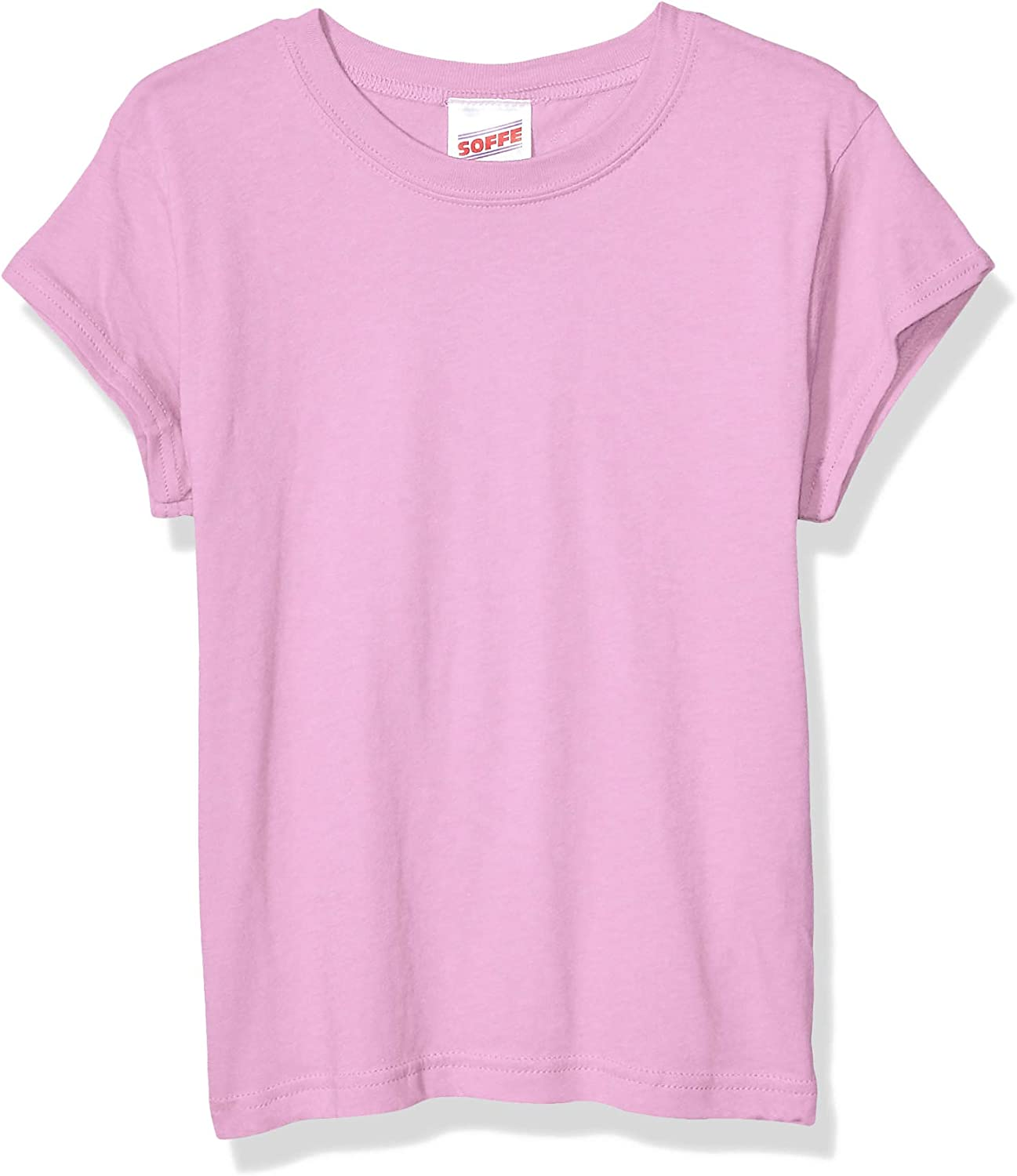 Soffe Girls' Big Short Sleeve Product Tee Selling Tissue