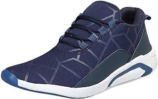 2ROW Men's Blue-Grey Sports Shoes