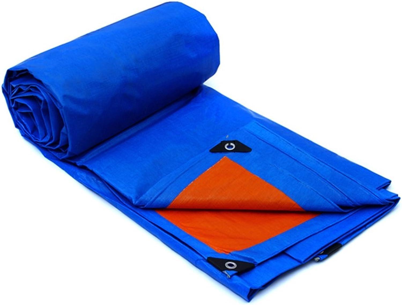 Plane Persenning Wasserdichte UV-Besteändige Plane Multi-Purpose Sheet Tarps Tarps Tarps für Camping und Outdoor - Dicke 0,32 mm, Multi-Größe-Optionen (blau) Abdeckplanen (größe   7MX5M) B07P9DL45L  Online e3553a