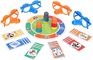 """Family Fun """"Liar"""" Game Fibber Board Game Includes Funny Glasses and Cards Growing Nose Interesting Family Interactive Toys for Kids Adults"""
