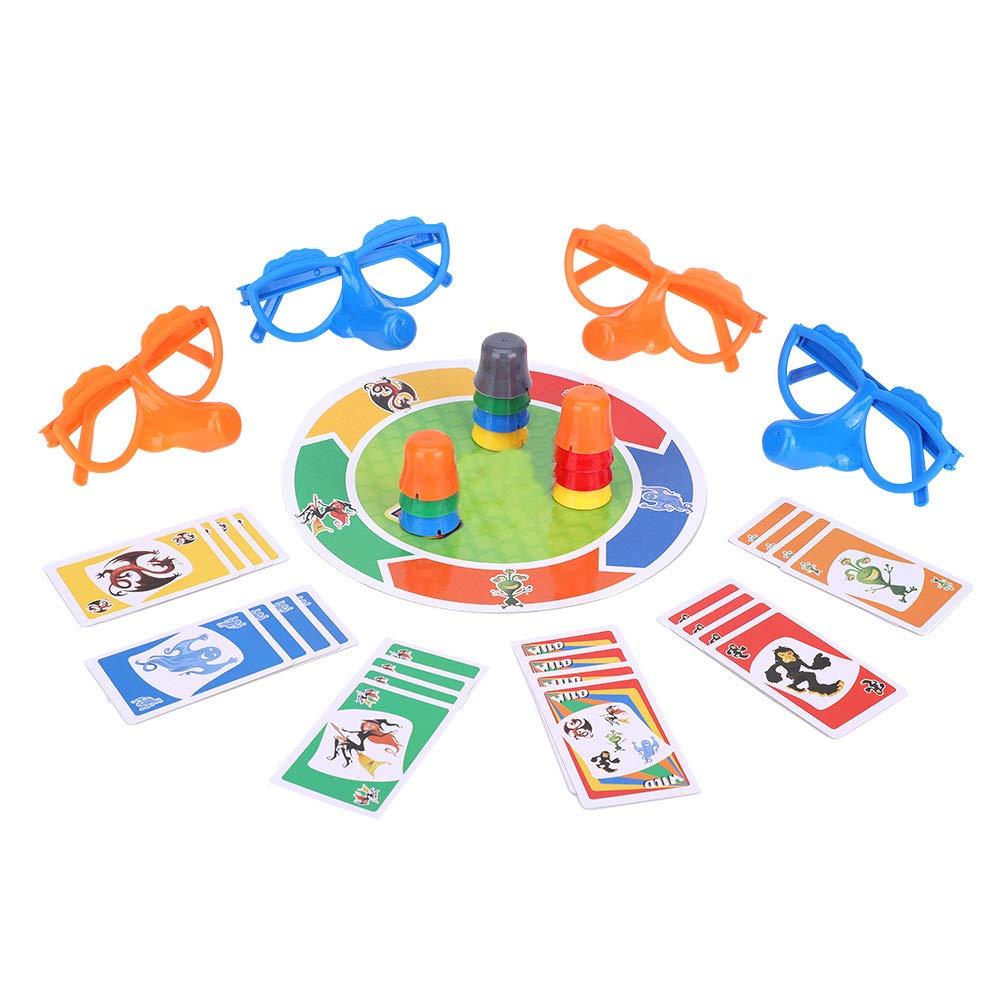 Hztyyier Juego de Mesa Juego de Juguetes para Fiesta Divertida Nariz Creciente Interesante Familia Juguetes interactivos para niños Adultos: Amazon.es: Juguetes y juegos