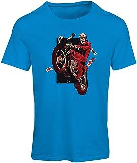 lepni.me Women's T-Shirt Motorcyclist - Motorcycle Clothing, Vintage Designs Retro Clothing