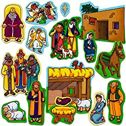 Baby Jesus Beginners Bible Felt Story Sets