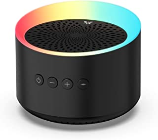 Axloie Portable Bluetooth Speakers, Colorful Light Bluetooth Speaker Wireless with Deep Bass and Stereo Sound, 12 Hours Playtime, TWS, Support TF Card/AUX, Built-in Mic for Home Outdoor Party Travel