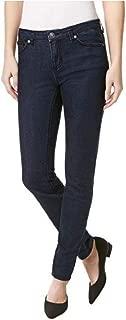 Buffalo Womens Skinny Mid-Rise Jeans, Francesca, Navy 2/26