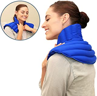 microwavable neck and back wrap