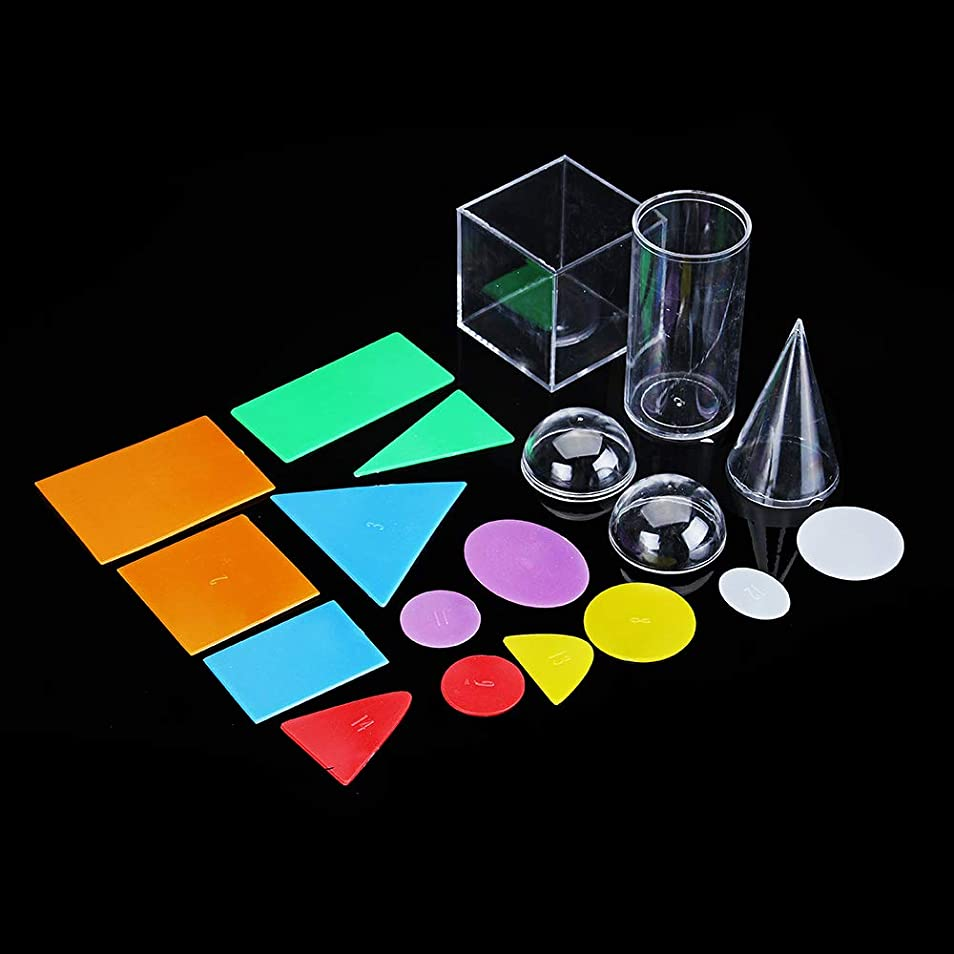 ストレージソーダ水ブラジャージオメトリ副教材数学のゲームのおもちゃを探る幾何学的な固体の Queenwind の断面