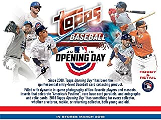 2018 TOPPS OPENING DAY - COMPLETE 200 CARD SET (Featuring Shohei Otani Rookie Card)