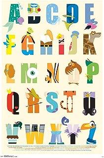 Trends International Disney Alphabet Wall Poster 22.375