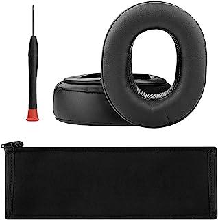 Geekria イヤーパッド + ヘッドバンド カバー SONY MDR-HW700, MDR-HW700DS ヘッドホン 専用 交換 用 ヘッドホンパッド イヤークッション セット