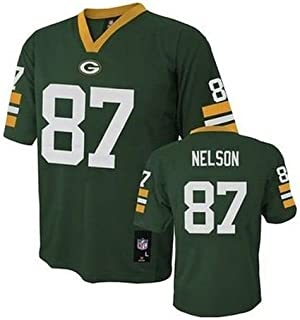 cbcfbb64d04 Jordy Nelson Green Bay Packers NFL Youth Green Home Mid-Tier Jersey (Size X