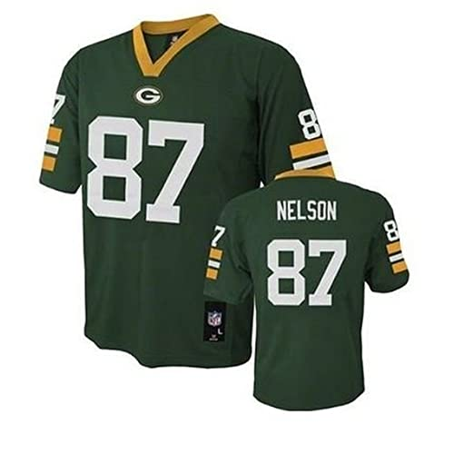 Jordy Nelson Green Bay Packers NFL Youth Green Home Mid-Tier Jersey (Size X 6004022fc
