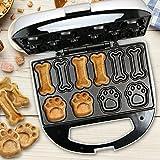 Clatronic DCM 3683 - Máquina para hacer galletas para perros y mascotas con forma de huel...