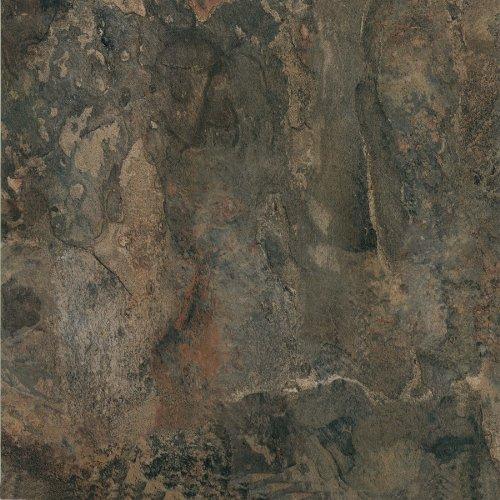 Achim Home Furnishings FTVMA44820 Nexus 12-Inch Vinyl Tile, Dark Slate Marble, 20-Pack, 20 Sq Ft