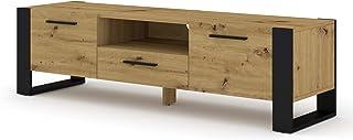 BIM Furniture Nuka - Mueble bajo para televisor (160 cm)