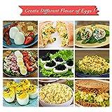 Zoom IMG-1 cuociuova 6 portauova antiaderente egg