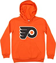 OuterStuff NHL Youth Boy's (8-20) Primary Logo Team Color Fleece Hoodie, Team Variation