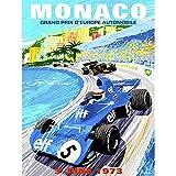 Wee Blue Coo Vintage Advert Motor Sport Monaco Grand Prix