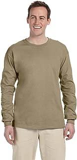 Fruit of the Loom Mens 5 oz. 100% Heavy Cotton HD Long-Sleeve T-Shirt(4930)