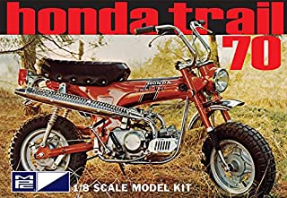MPC833 Honda Trail 70 Motorcycle Kit 1/8 Scale by MPC