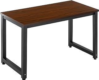 """میز کامپیوتر 47 """"نوشتن مطالعه میز بازی میز مدرن سبک لپ تاپ سبک ساده برای دفتر خانه (گردو)"""