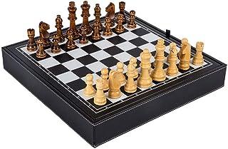 Luckyw Trä schack jul födelsedag premium gåvor underhållning brädspel schack