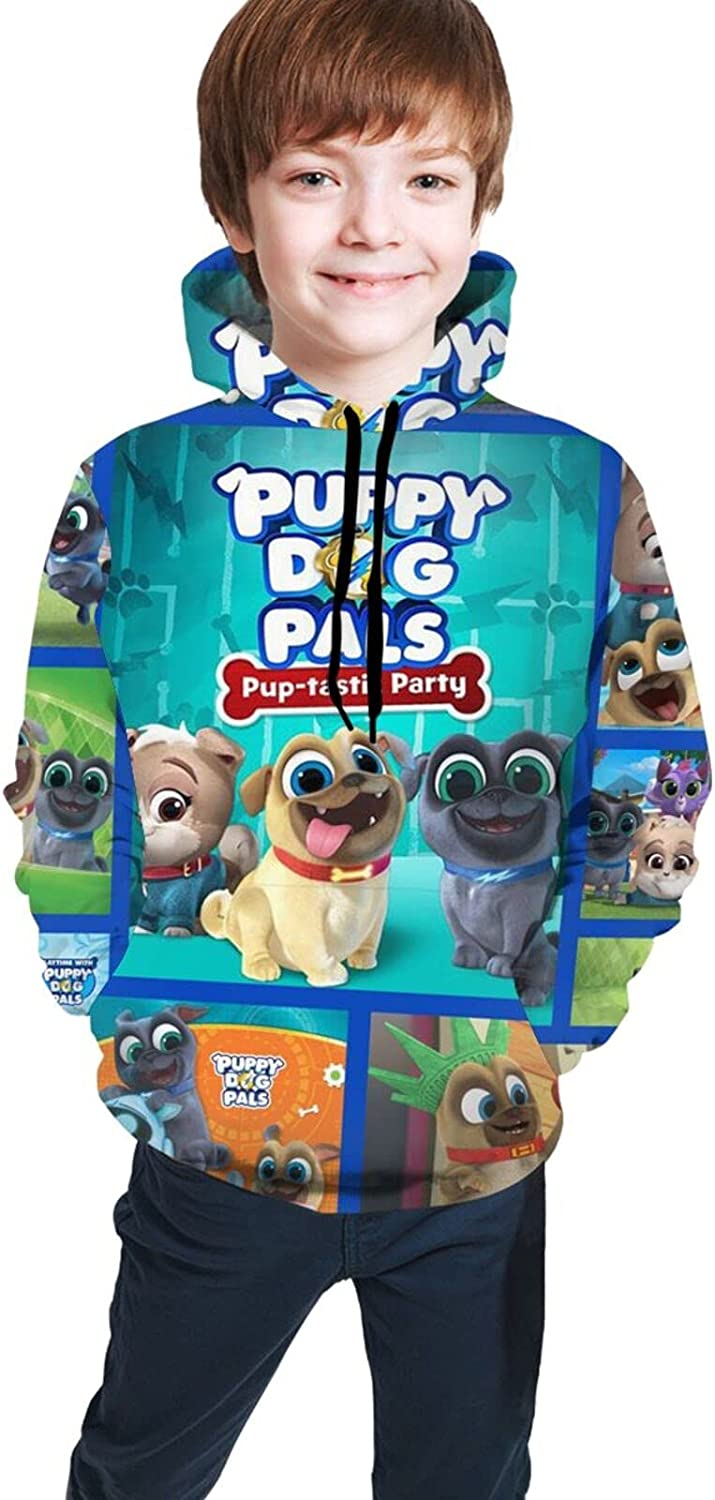 Puppy Dog Pa.Ls Hoodie Shirt Pocket Hooded Girl And Teen Soldering Inventory cleanup selling sale Boy Swe