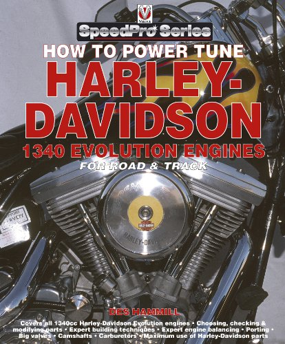 How to Power Tune Harley Davidson 1340 Evolution Engines (SpeedPro series) (English Edition)