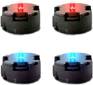 Leiasnow ガンプラ LEDユニット 赤 青 各2個入 ガンダム プラモデル rg rgザク2 プラモデルrg ジム ハロ プラモ (赤2 青2)