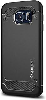 Spigen Rugged Armor Designed for Samsung Galaxy S6 Case (2015) – Black