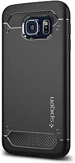 Spigen Rugged Armor Designed for Samsung Galaxy S6 Case (2015) - Black