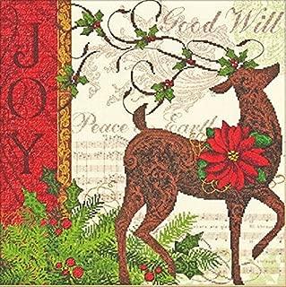 Best winter reindeer cross stitch Reviews