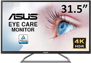 ASUS 4K UHD HDR10対応31.5インチ モニターディスプレイVA32UQ 広視野角DCI-P3 HDMI 2ポート ブルーライト軽減 フリッカーフリー スピーカー内蔵3年保証