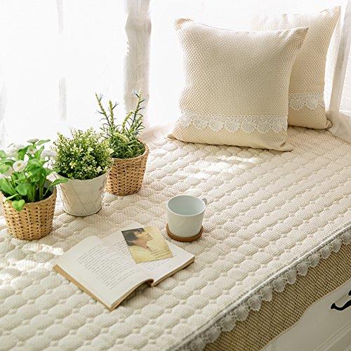AMYDREAMSTORE Simple Non-Slip Bay Window Cushion Blanket Bench mat Sofa mat Rug Bay Window Cushion Cover Tatami mats Living Room Bedroom Balcony mat-C 70x150cm(28x59inch)