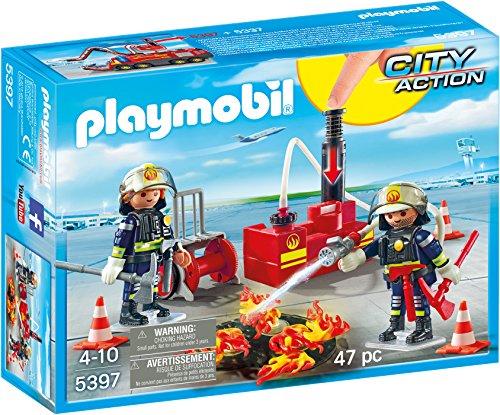 Playmobil 5397 - Esercitazione dei Vigili del Fuoco, 2 Pezzi