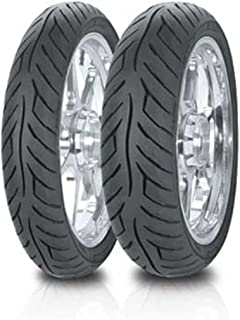 Avon Tyres Roadrider AM26 Tire - Front/Rear - 100/90V-19 , Tire Type: Street, Tire Construction: Bias, Tire Application: Sport, Position: Front/Rear, Tire Size: 100/90-19, Rim Size: 19, Load Rating: 57, Speed Rating: V 2289013
