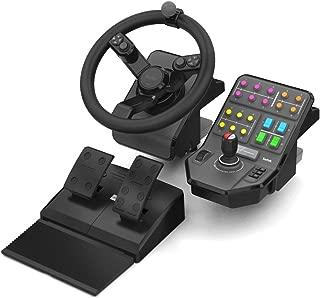 Saitek Farming Simulator Wheel, Pedals, Vehicle Side Panel Bundle (SCB432160002/01/1)
