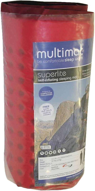Pro Force Superlite Multimat, Red Black