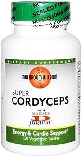 Mushroom Wisdom Super Cordyceps Caplets, 120 Count