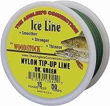 Woodstock Line TU-50-25-G No. 25 Tip-Up Line Green, 50-Yard