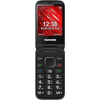 Telefunken TM 360 Cosi - Teléfono Móvil, color Rojo: Telefunken: Amazon.es: Electrónica