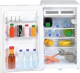 Super General 140 Liter Gross Volume Compact Mini-Refrigerator SGR-060-H, White, Beverage-Fridge with Child Lock, Shelf, F...
