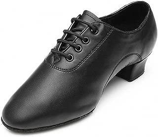 MQ Boy's Men's Black Soft Latins Jazz Dance Gym Modern Ballroom Shoes