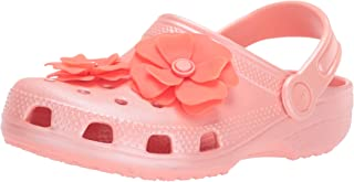 Crocs Unisex-Child 205713-737 Classic Vivid Blooms Clog Pink Size: