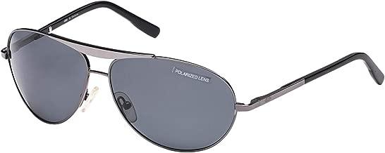 اكس اكس اكس نظارة شمسية XXX افييتور للرجال - 292-رصاصي - 65-17-125 mm