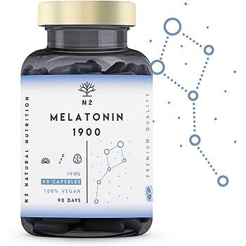 Melatonina Complex   120 cápsulas veganas para 4 meses   Con 5-HTP ...
